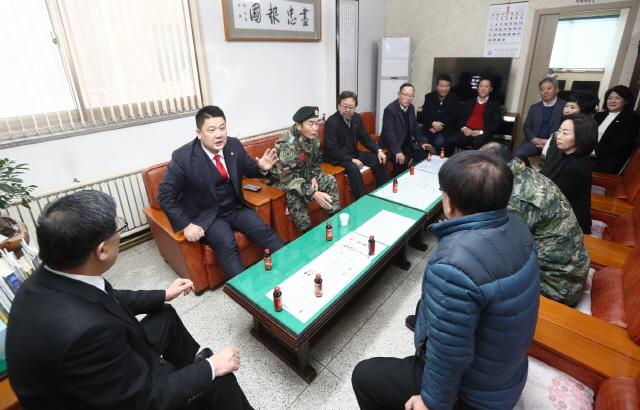 광주시의회 이문섭 의장, 의원모두 기관방문